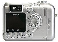 Nikon Coolpix 4300 achterkant