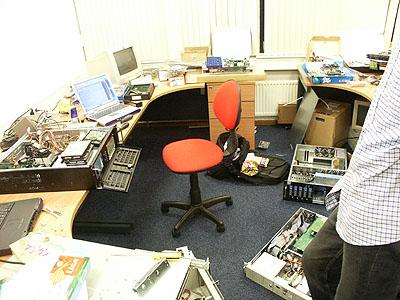Server upgrades 31 aug: TeleCity werkruimte