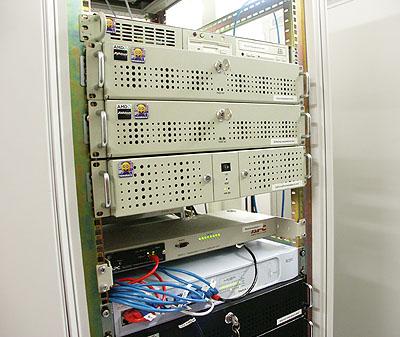 Server upgrades 31 aug: Witte rackmounts