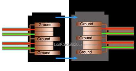 Serial ATA aansluit schema