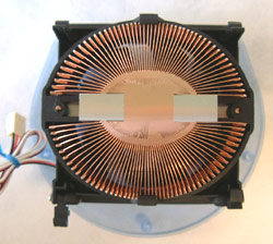 Zalman CNPS5700D-Cu Ducted P4 Heatsink base