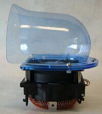 Zalman CNPS5700D-Cu Ducted P4 Heatsink side