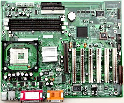 Liteon NA121 moederbord