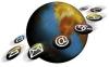 Automatiserings globe e-mail communicatie