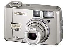 Pentax Optio 330 GS (voor)