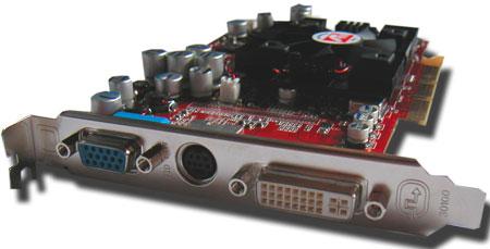 ATi Radeon 9700 Pro: backview
