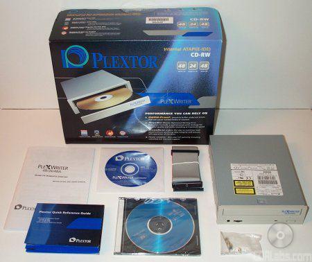 Plextor 48/24/48A retail verpakking