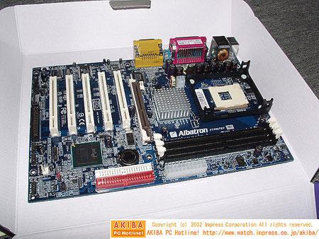 Albatron PX845PEV moederbord