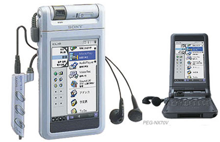 Sony Clié PEG NX-70V en NX-60