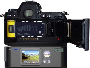 SiliconFilm EFS-10 digitale film