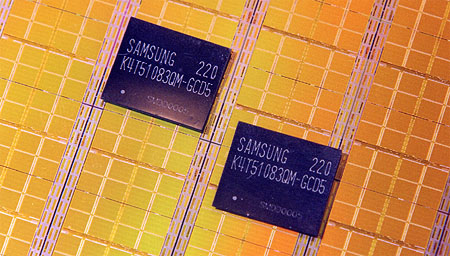 Samsung DDR-II chips (groot)