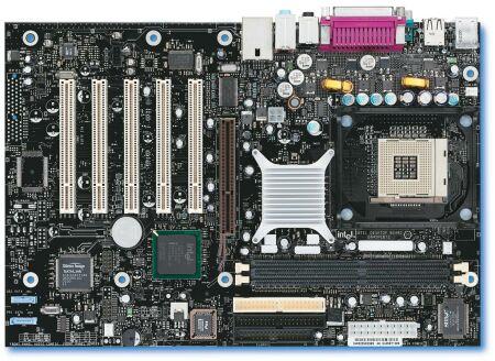 Intel D845PEBT2 moederbord