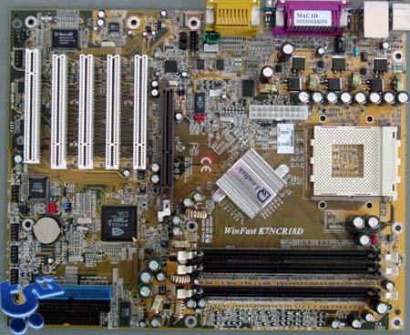 Leadtek K7NCR18D Pro nForce2 moederbord