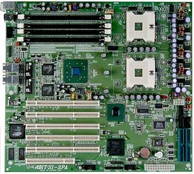 Abit SI-2Pa dual Xeon bord