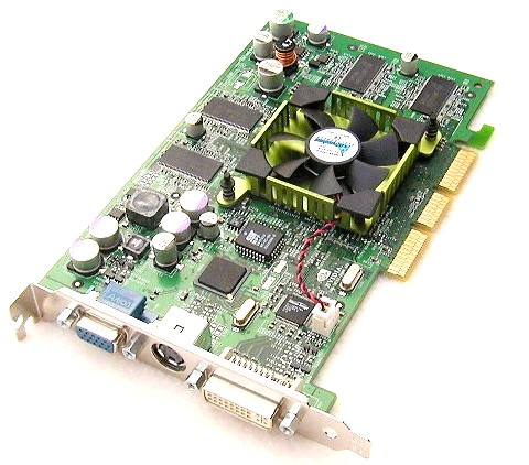 GeForce4 Ti4200 AGP8x reference board