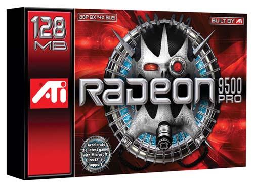 ATi Radeon 9500 Pro Box