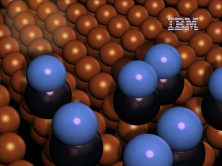 IBM molecule cascade simulatie