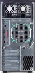 Dell PowerEdge 1600SC (achterkant)