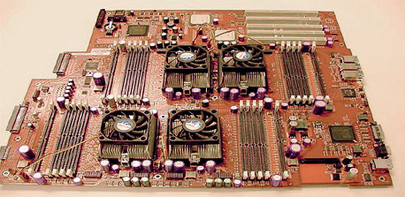 4-way AMD Opteron moederbord