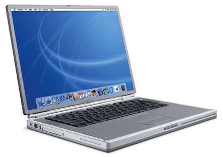 Apple Titanium PowerBook G4