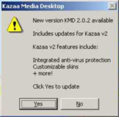 KaZaA Media Desktop 2.0.2 update