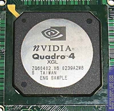 Quadro4 XGL980 - engineering sample