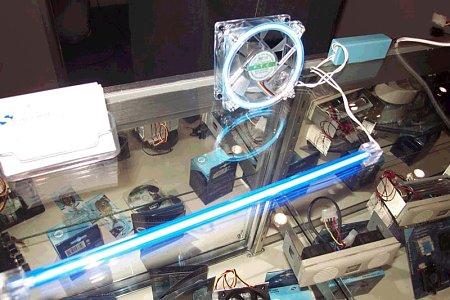 cathode tube fan