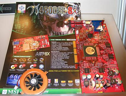 MSI GeForce4 Ti4800SE
