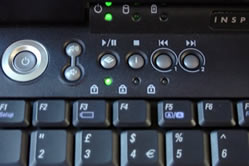 Dell Inspiron 8200 buttons - Blarg OC review