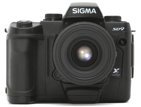 Sigma SD9 met Foveon X3