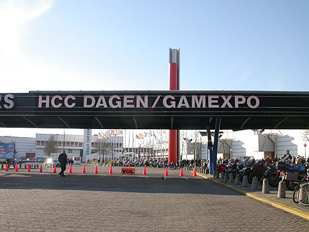 HCC Dagen 2002 fotoverslag: Jaarbeurs poort