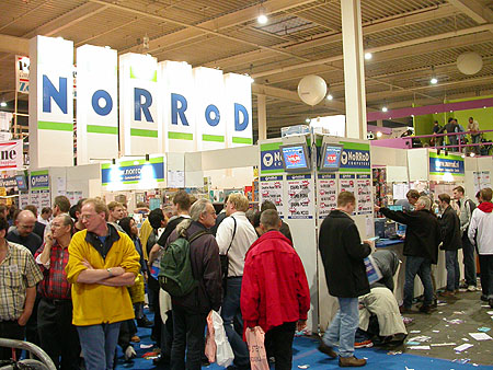 HCC Dagen 2002 fotoverlsag: Norrod stand