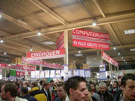 HCC Dagen 2002 fotoverlsag: Computerland stand