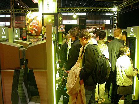 HCC Dagen 2002 fotoverslag: Gamexpo Xbox stand