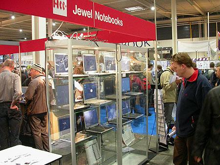 HCC Dagen 2002 fotoverslag: Jewel notebooks