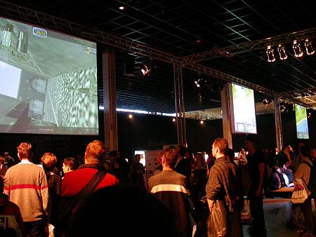 HCC Dagen 2002 fotoverslag: Gamexpo Game Arena