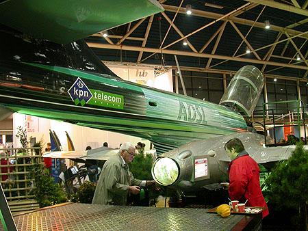 HCC Dagen 2002 fotoverslag: KPN vliegtuig