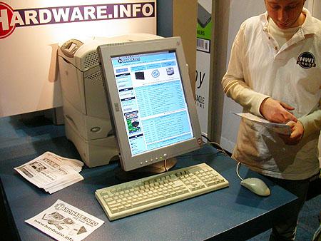 HCC Dagen 2002 fotoverslag: Hardware.Info stand