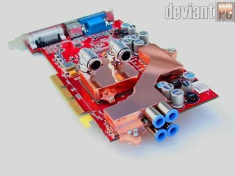 DeviantPC Radeon9700 watergekoeld (voorzijde)