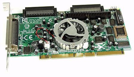 Tekram DC-390U4W Ultra320 SCSI controller