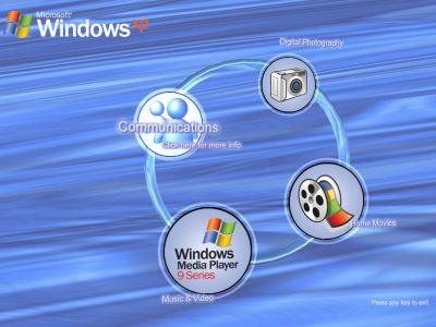 Microsoft Holiday Fun Pack Screensaver: Amazing Windows XP