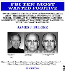 FBI - James Bulger @ 'most wanted list'