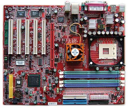 MSI GNB MAX-FISR i7502 moederbord