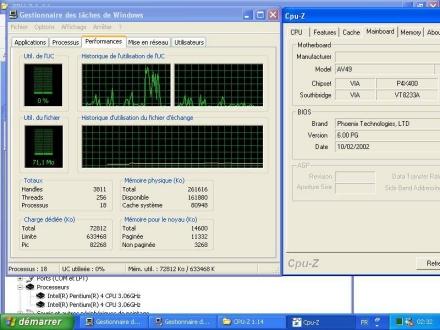 HyperThreading op VIA P4X400