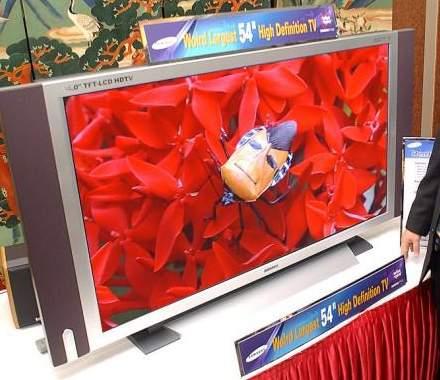 Samsung 54-inch TFT-scherm