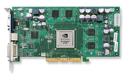 Gainward GeForce FX Ultra 5800 (zonder koeler)