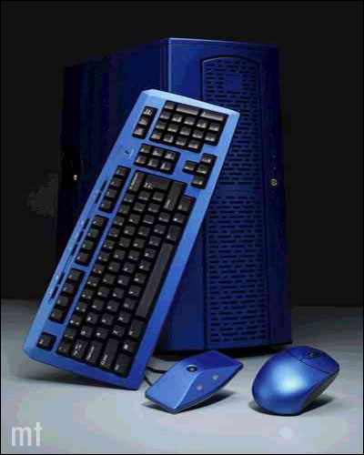 Chieftec Michelangelo Cordless Keyboard & Mouse