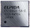 Elpida DDR-II memory chip