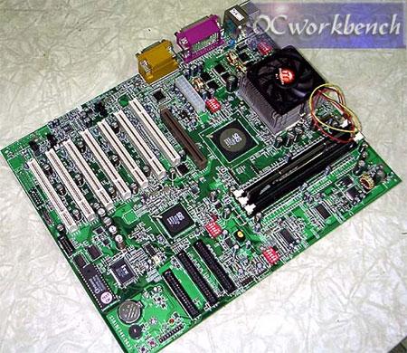 SiS 746FX referentiebord