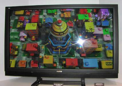 Sanyo 50 inch 3D display